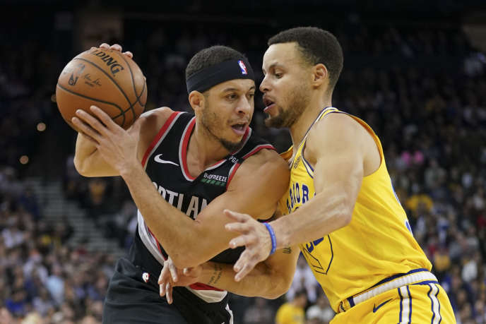 For the first time, two brothers - Seth and Stephen Curry - will compete in the NBA conference finals.