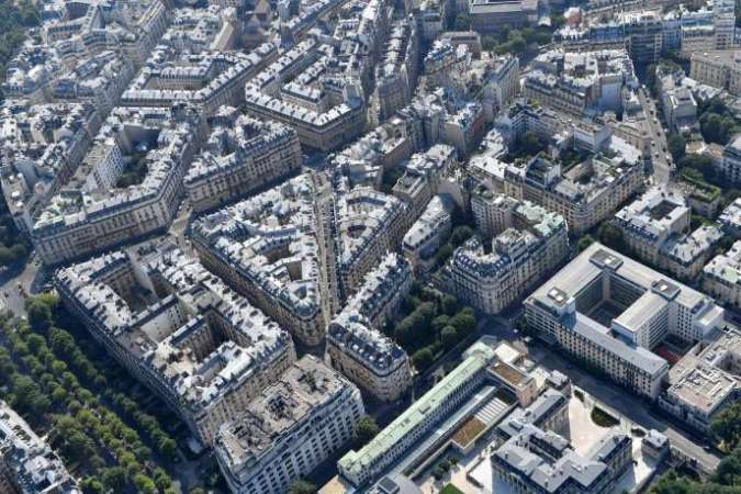Buildings in the 16th arrondissement of Paris, in July 2018.
