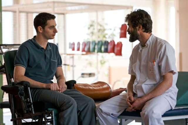 Pablo Pauly et Yannick Renier dans le film« Patients» de Grand Corps Malade et Mehdi Idir.