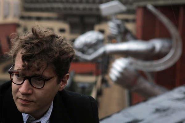 Le réalisateur russe Ilya Khrzhanovsky, sur le tournage de «DAU», à Kharkiv (Ukraine), en 2010.