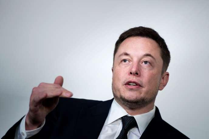 Elon Musk, le patron de Tesla, Washington, le 19 juillet.