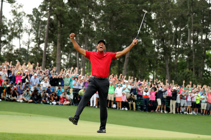 Tiger Woods, after his victories at Augusta, April 14.