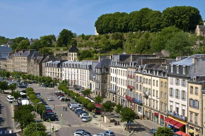 So unterschiedliche Orte wie Morlaix (Foto), Fontainebleau, Blois, Cahors, Vichy und Agde sind für das Denormandie-Programm geeignet.