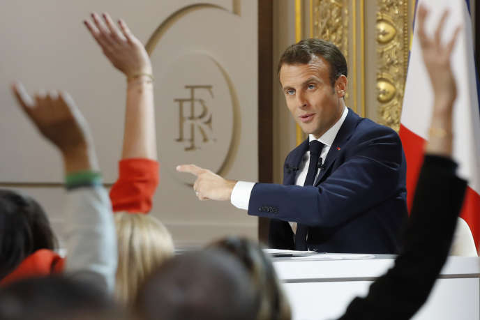 """""""The postponement of the retirement age would only transfer to other social budgets the coverage of this new insecurity, without reducing the overall envelope of social spending"""" (Emmanuel Macron, April 25, at the Elysium)."""