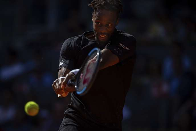 Gael Monfils, the French number 1 at Roland-Garros.