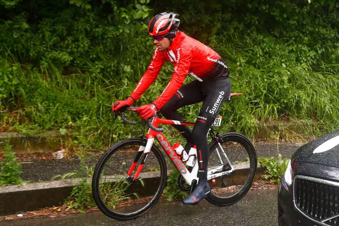 Tom Dumoulin, May 15th at the 5th stage of the Giro.