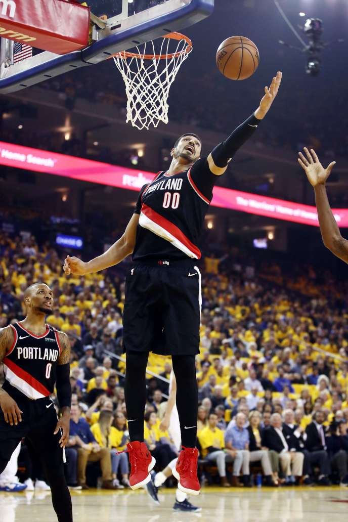 Persona non grata in his country, Enes Kanter is contesting the NBA West Conference Finals.