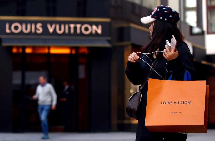 Tienda Louis Vuitton en Viena (AQutriche), 4 de octubre de 2018.
