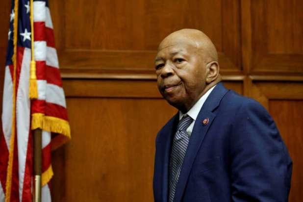 Le représentant démocrate Elijah Cummings au Capitole à Washington, le 12 juin.
