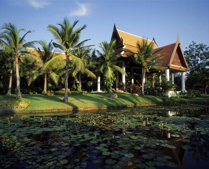 L'hôtel Anantara à Hua Hin, en Thaïlande.