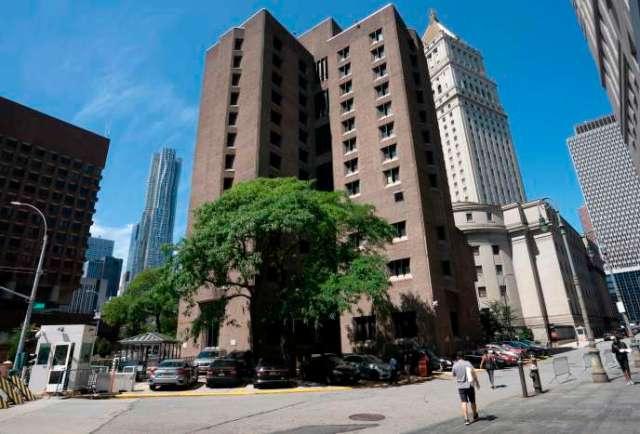 La prison où Jeffrey Epstein était incarcéré.