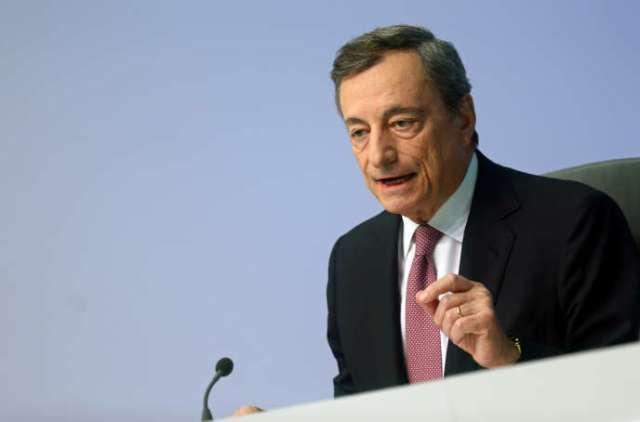 Le président de la BCE, l'Italien Mario Draghi, à Francfort, le 12 septembre 2019.