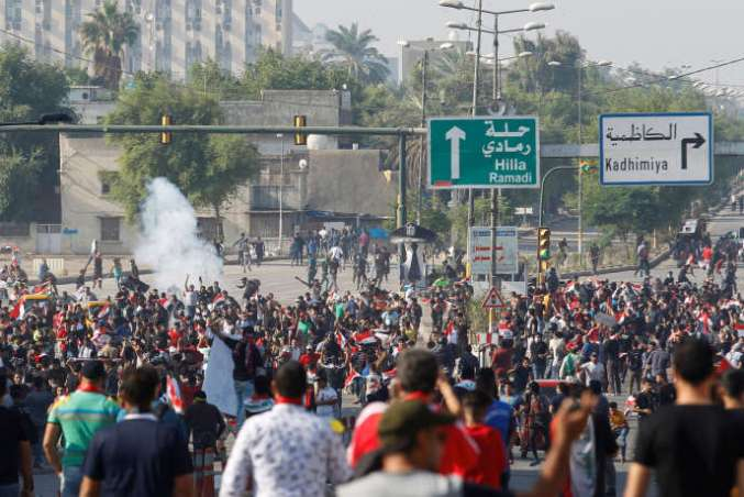 A Bagdad, le 25 octobre.