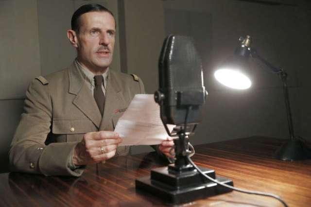 Lambert Wilson incarnant Charles de Gaulle dans «De Gaulle», de Gabriel Le Bomin.