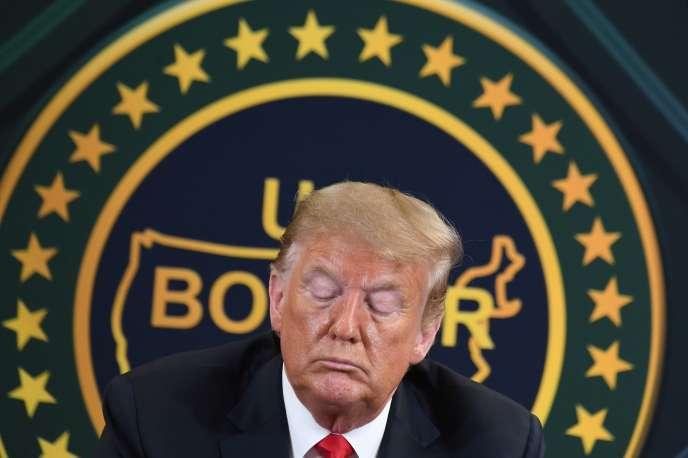 Donald Trump, le 23 juin 2020.