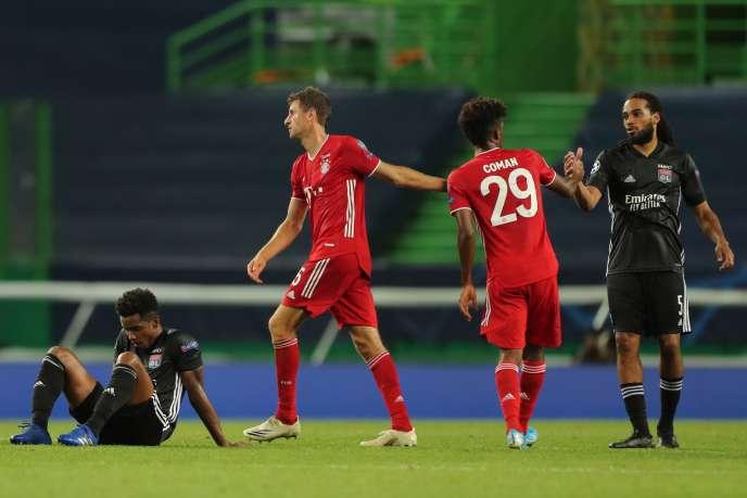 Le Bayern Munich de Müller et Coman a éliminé l'OL de la Ligue des champions.