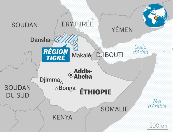 Depuis plus d'un mois, un conflit oppose le gouvernement éthiopien et les dissidents de la région du Tigré.