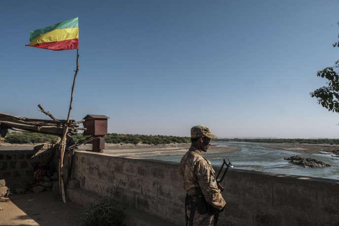 A Humera, à la frontière entre l'Ethiopie et l'Erythrée, le 24 novembre 2020.