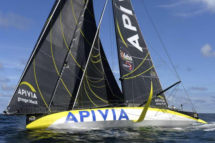 Le leader du Vendée Globe Charlie Dalin (Apivia) possédait, mercredi, plus de 80 milles nautiques d'avance sur Thomas Ruyant (LinkedOut), privé de son foil bâbord depuis mercredi matin.