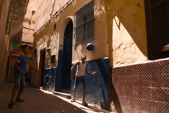 Dans la vieille ville de Tanger, en août 2018.
