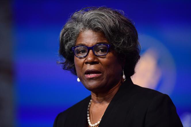 Linda Thomas-Greenfield, ancienne sous-secrétaire d'Etat pour l'Afrique de Barack Obama, est devenue représentante des Etats-Unis à l'ONU.