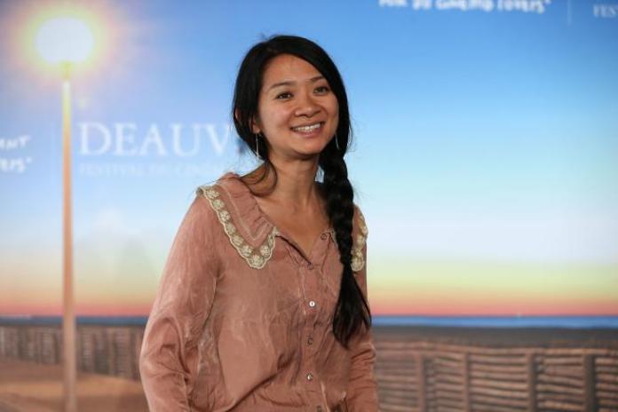 La réalisatrice Chloé Zhao, en septembre 2015, au Festival du cinéma américain de Deauville.