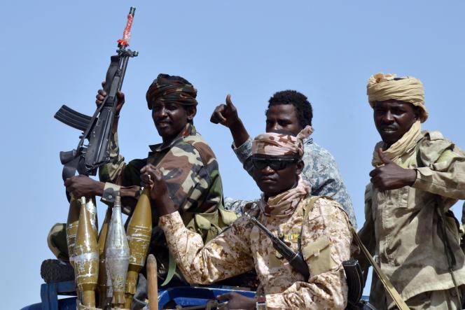 Des militaires tchadiens dans le sud-est du pays, en mai 2015.