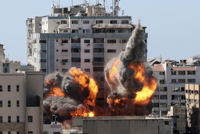 A Gaza, le 15 mai.
