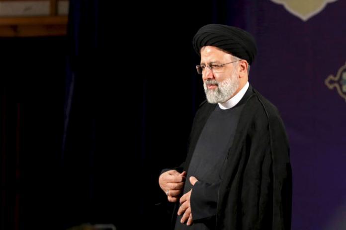 Ebrahim Raïssi, le 15 mai 2021, à Téhéran.