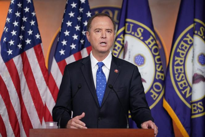 Adam Schiff, président de la commission du renseignement de la Chambre des représentants, ici en septembre 2019.