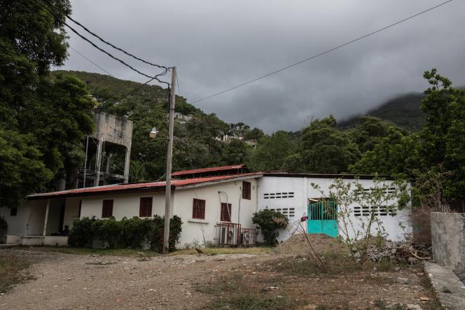 L'unitéCovid-19 de l'hôpital universitaire Justinien. à Cap-Haïtien (Haïti), le 26 juin 2021.