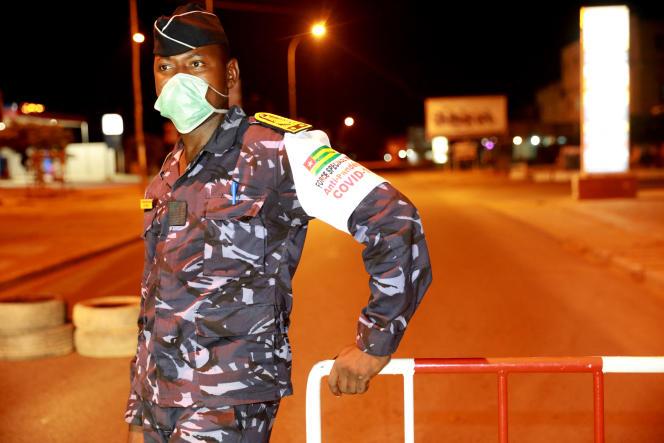 A Lomé, en avril 2020.