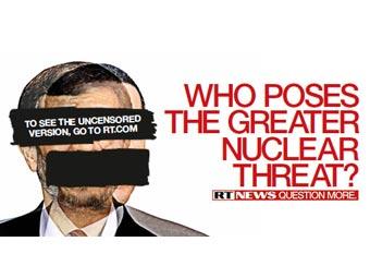 Один из рекламных плакатов RT. Иллюстрация с сайта телеканала
