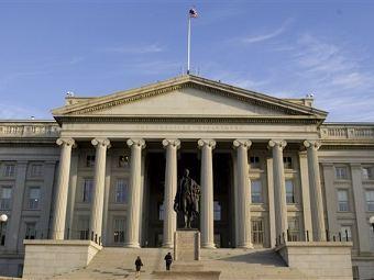 Здание министерства финансов США. Фото (с)AFP