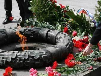 Вечный огонь в Клайпеде. Фото DELFI