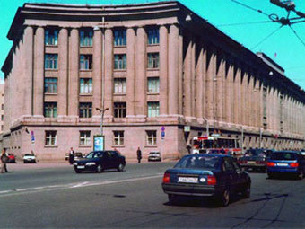 Здание ГУВД Санкт-Петербурга и Ленинградской области. Фото с сайта pkbf.ru