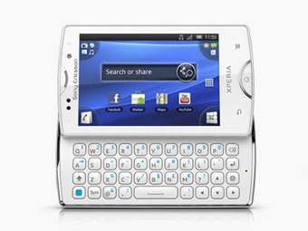 Смартфон Xperis mini pro, фотография с сайта sonyericsson.com