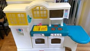 Used Little Tikes Kitchen Set With Accessories For Sale In