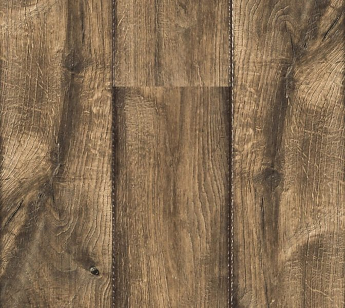 Used  10mm Antique Farmhouse Hickory Laminate Flooring for sale in      10mm Antique Farmhouse Hickory Laminate Flooring