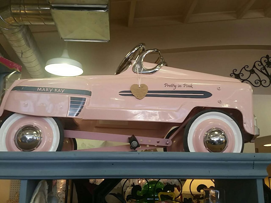 Used Vintage 1960 s rare Mary Kay peddle car  for sale in Fillmore     Vintage 1960 s rare Mary Kay peddle
