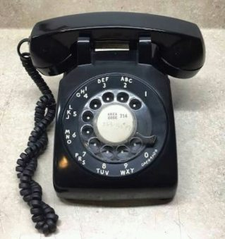 Image result for rotary phone