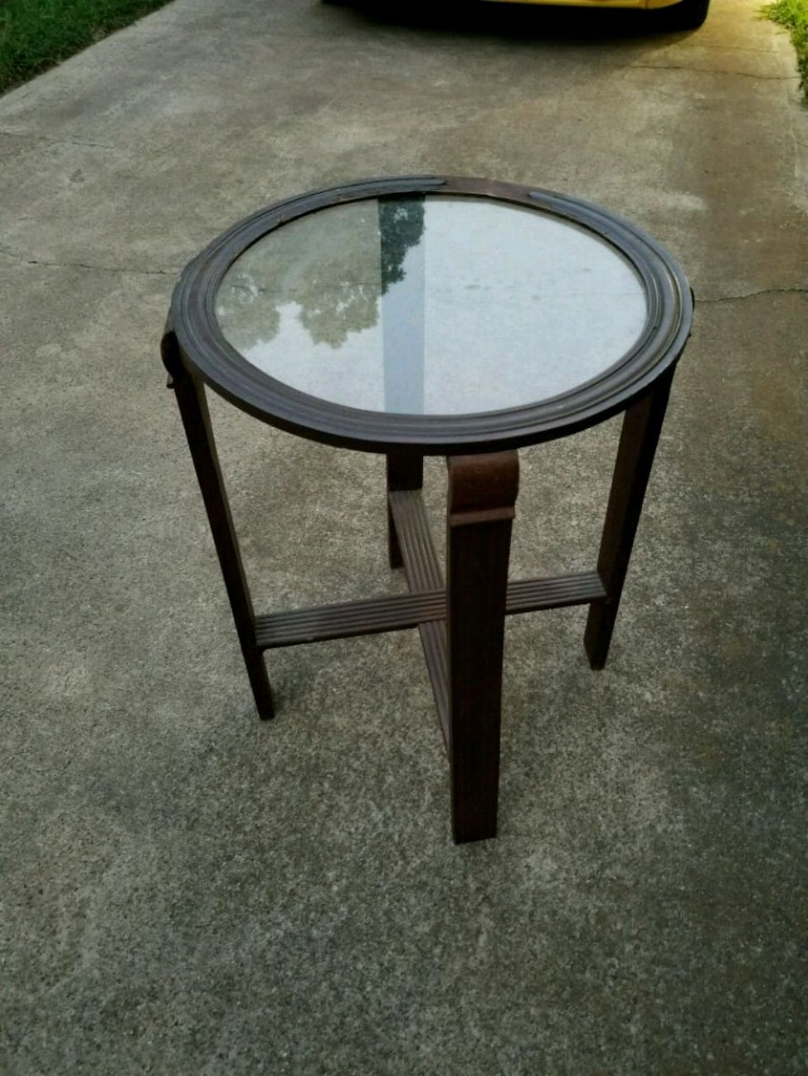 home decor cocktail side accent table wood and g