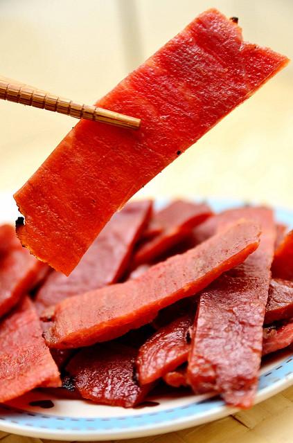 [宅配團購]愛不是手~ 黑胡椒磚塊肉乾,美式炭烤肉乾,章魚花 一片肉乾,一個幸福~
