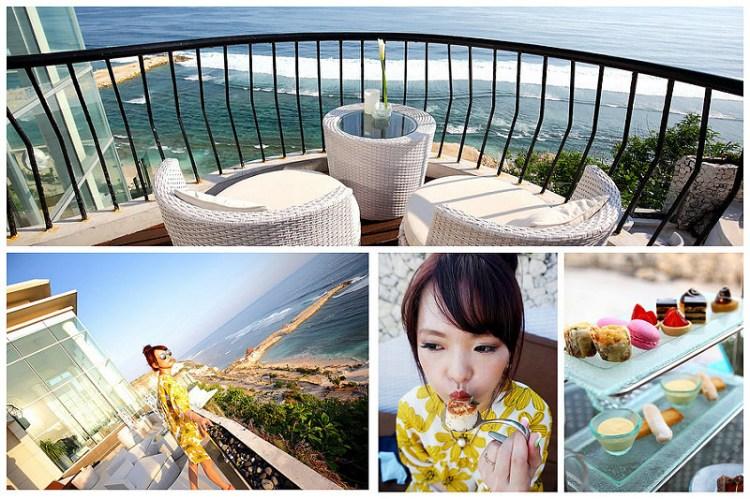 [峇里島]180度無死角海景~絕美印度洋就在你眼前,媲美法式料理的奢華下午茶~Banyan Tree悅榕莊JuMaNa下午茶