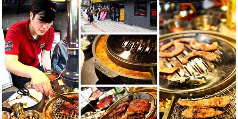 [台北大安]韓國烤肉全國最大品牌~史上最強韓式烤肉~新麻蒲海鷗臺灣1號店