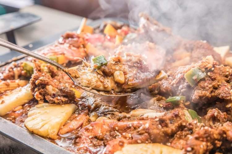 [新竹市]新竹美食推薦,麻辣鮮香重慶烤魚,還有創意澎湃的無菜單料理!海の貨海鮮料理