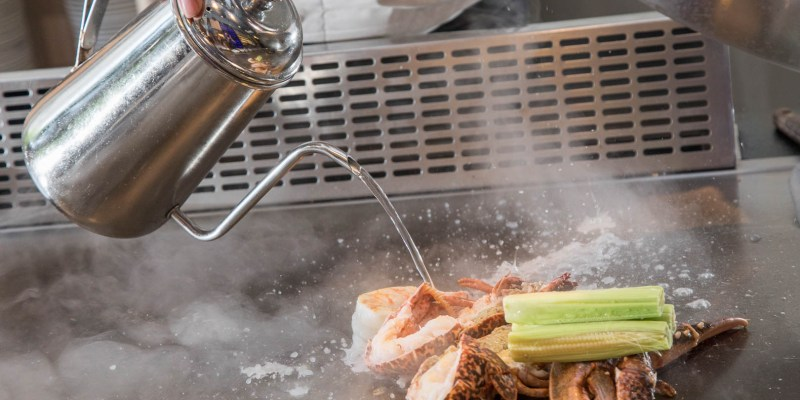 [新北林口]林口鐵板燒推薦,高CP值無菜單鐵板燒料理,道道都帶給你味蕾新享受!鼎級prime鐵板燒