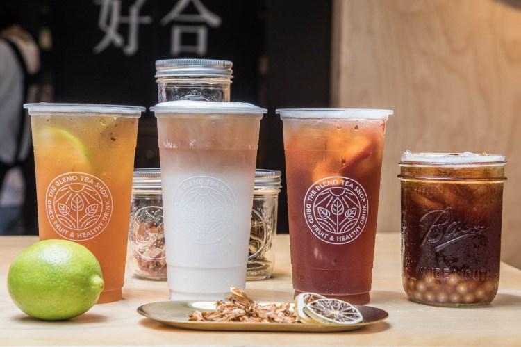 受保護的內容: [台北大安]追求食材的原始風貌,台北唯一天然果乾茶!果然好合The Blend Tea Shop