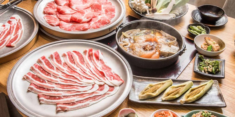 [台北中山]台北吃到飽推薦!頂級肉品壽喜燒2.5小時吃到飽就是狂!どん亭 Don-tei 壽喜燒