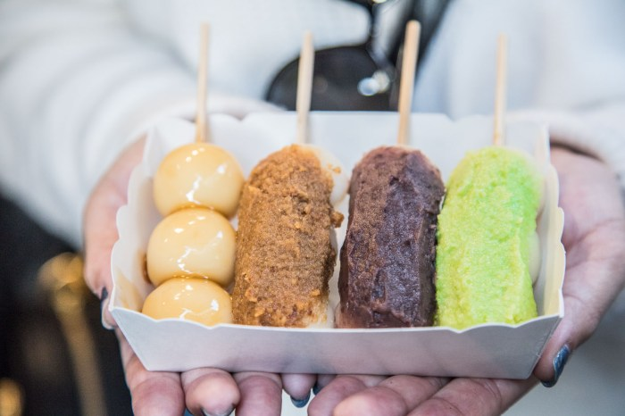 [新北淡水]淡水散步甜食,道地手作七色糯米糰子!福和菓子-日本道地純天然手作